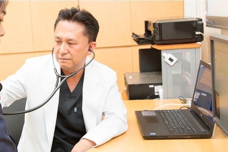現在、患者様に起きている症状・疾患をしっかりと見極めます